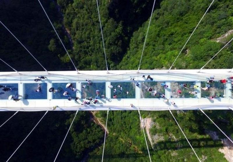 پل شیشه ای معلق هیر اردبیل