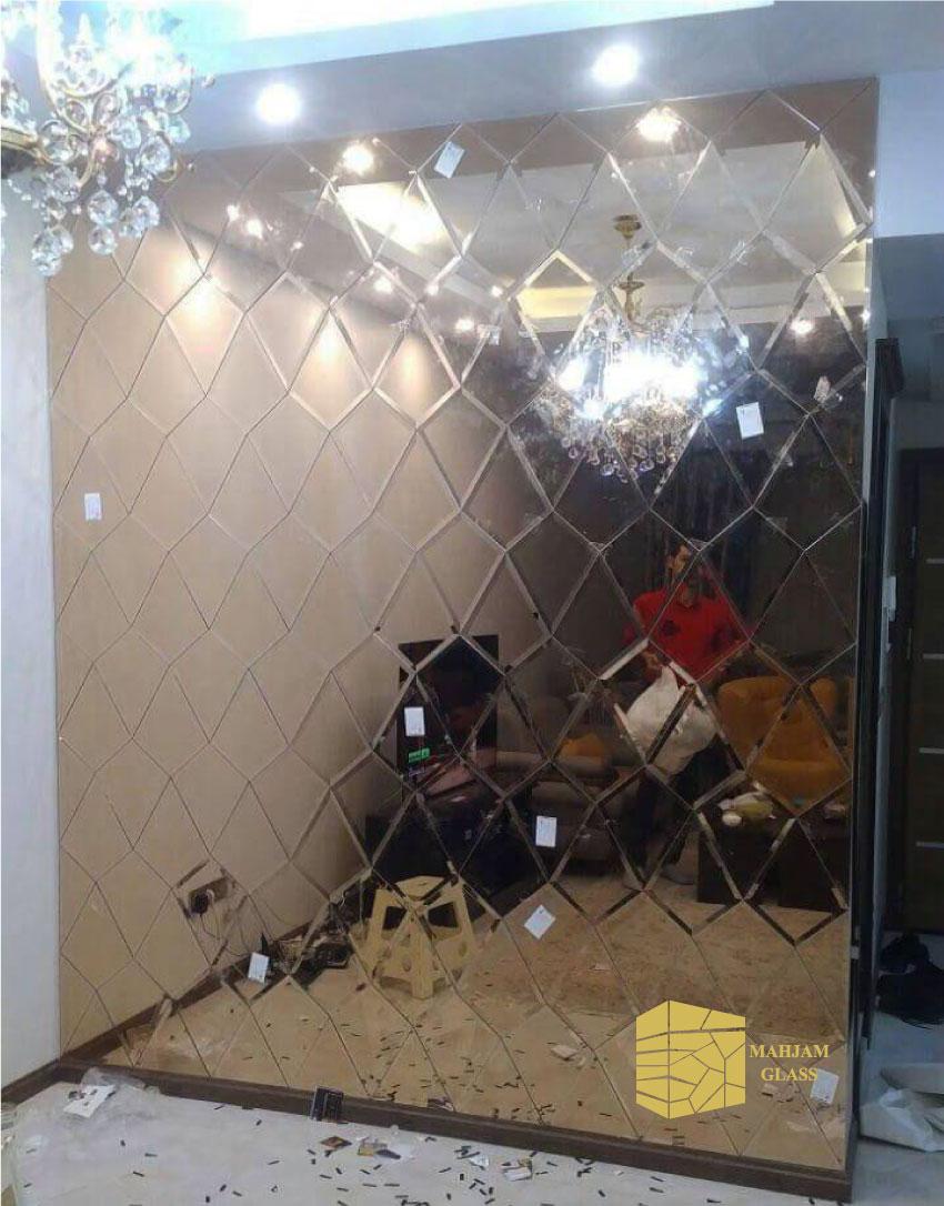 تایل آینه ای الماس