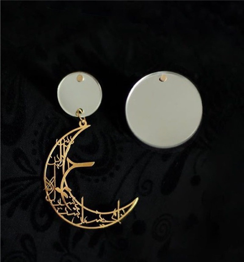 ترکیب آینه و طلا