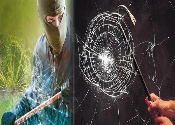 شیشه نشکن ضد سرقت