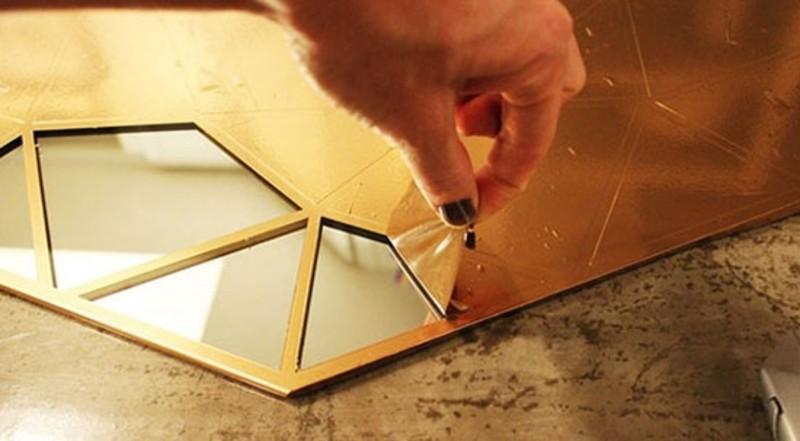 ساخت آینه دکوراتیو